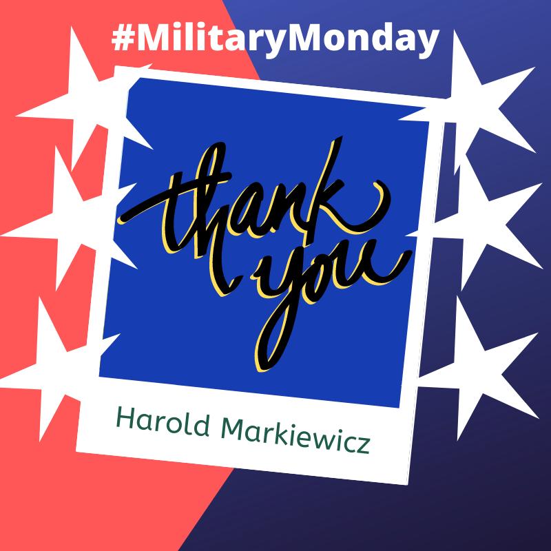 Harold Markiewicz MM