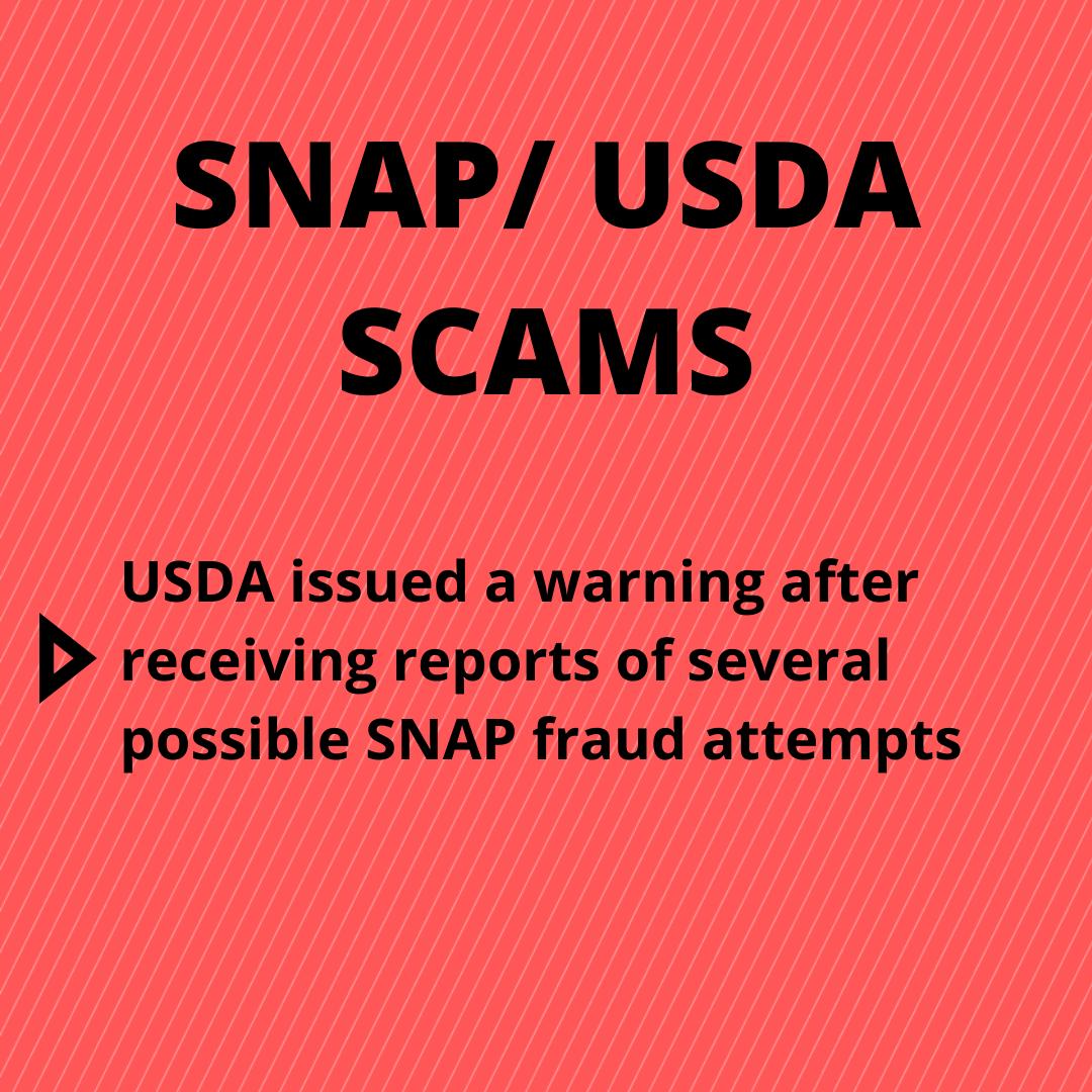 Scams-USDA